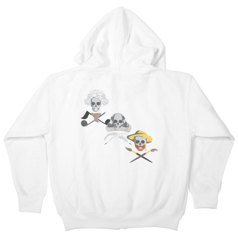 Artist Dead Kids Zip-Up Hoody by Inspired Human Artist Shop