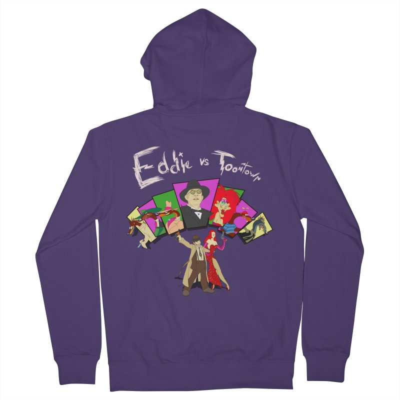 Eddie V. Women's Zip-Up Hoody by Inspired Human Artist Shop