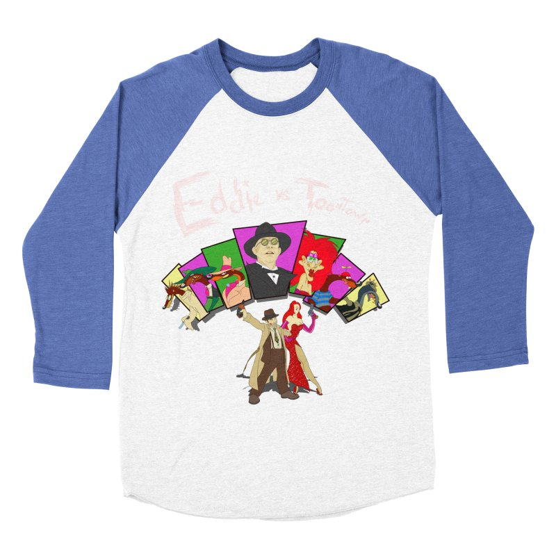 Eddie V. Women's Baseball Triblend T-Shirt by Inspired Human Artist Shop