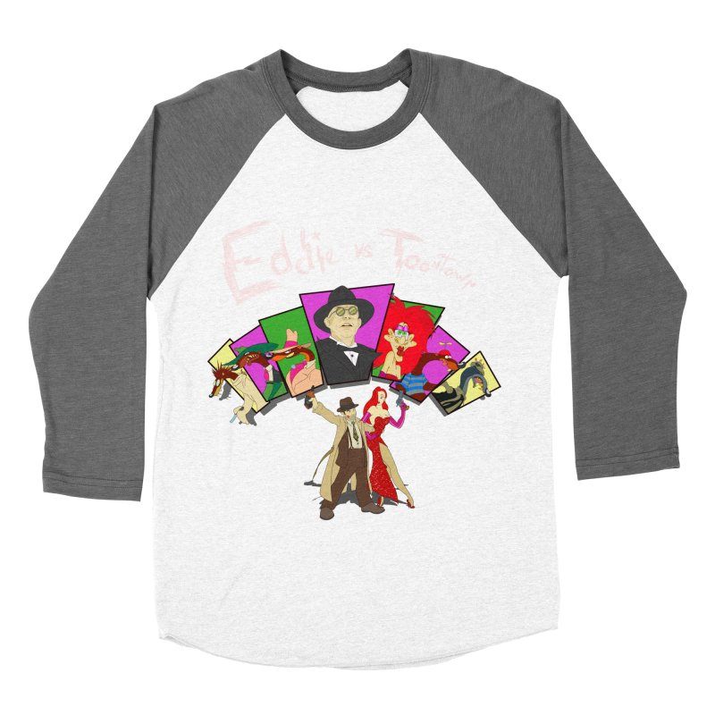 Eddie V. Men's Baseball Triblend T-Shirt by Inspired Human Artist Shop