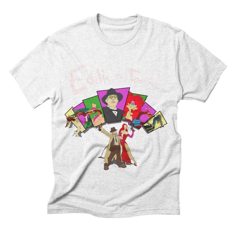 Eddie V. Men's Triblend T-shirt by Inspired Human Artist Shop