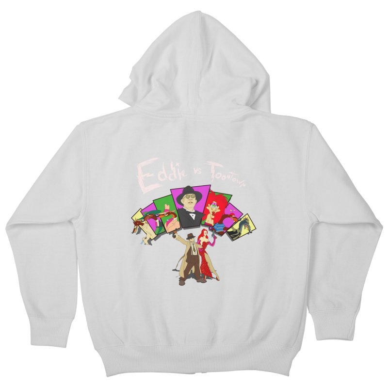 Eddie V. Kids Zip-Up Hoody by Inspired Human Artist Shop