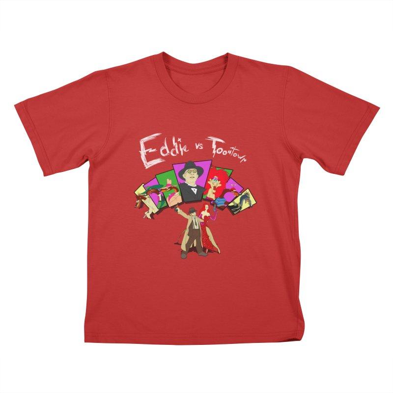 Eddie V. Kids T-Shirt by Inspired Human Artist Shop