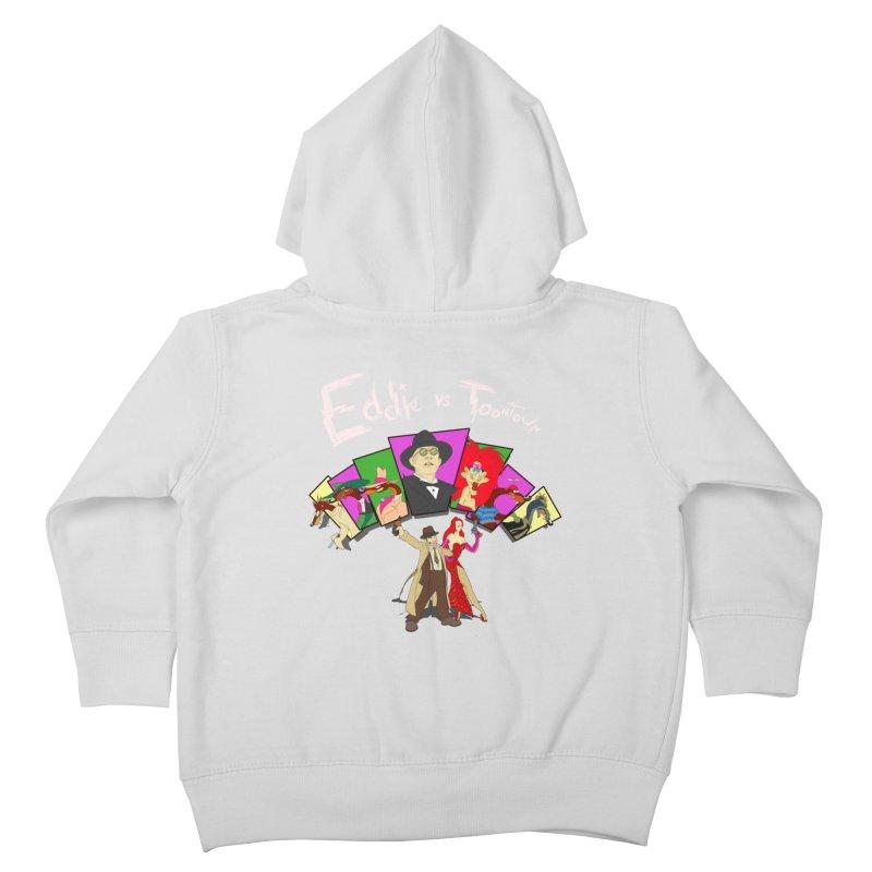 Eddie V. Kids Toddler Zip-Up Hoody by Inspired Human Artist Shop