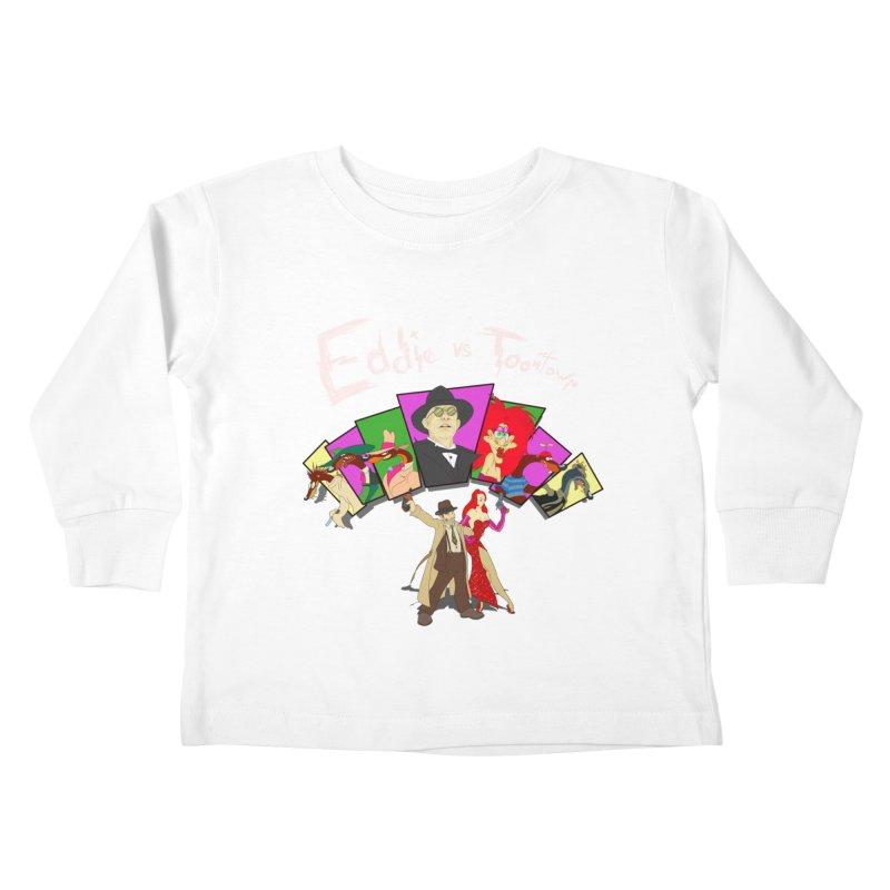 Eddie V. Kids Toddler Longsleeve T-Shirt by Inspired Human Artist Shop