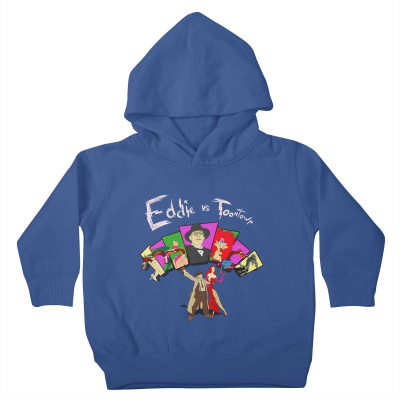 Eddie V. Kids Toddler Pullover Hoody by Inspired Human Artist Shop