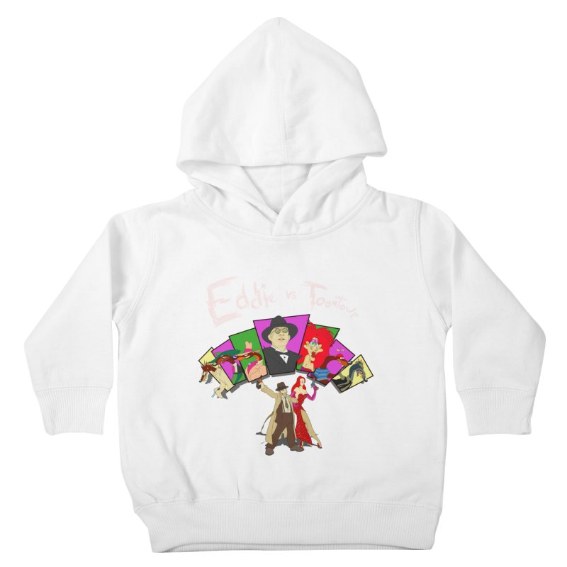 Eddie V. Kids Toddler Pullover Hoody by Inspired Human Artist Shop