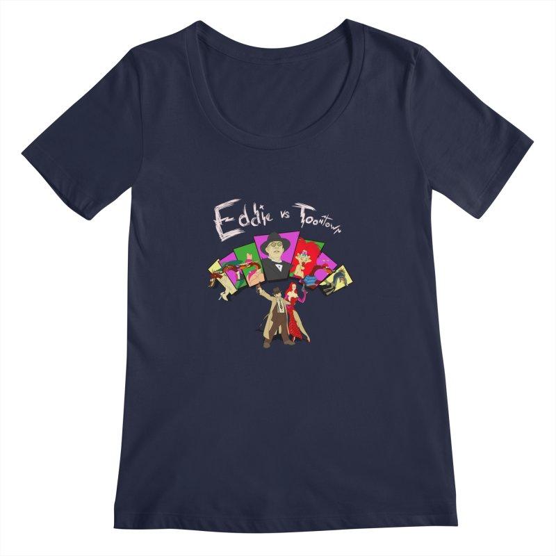 Eddie V. Women's Scoopneck by Inspired Human Artist Shop