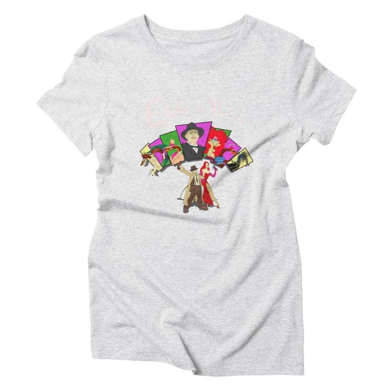 Eddie V. Women's Triblend T-Shirt by Inspired Human Artist Shop
