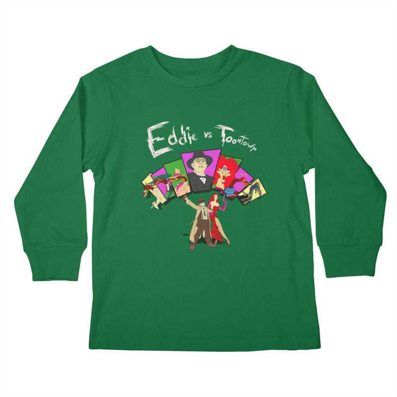 Eddie V. Kids Longsleeve T-Shirt by Inspired Human Artist Shop
