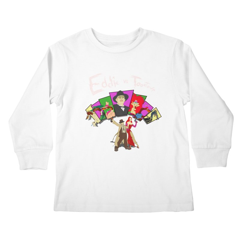 Eddie V. Kids Longsleeve T-Shirt by Inspired Human Artist Shop