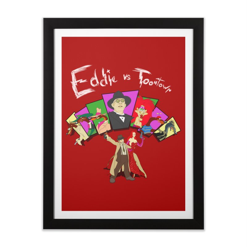 Eddie V. Home Framed Fine Art Print by Inspired Human Artist Shop