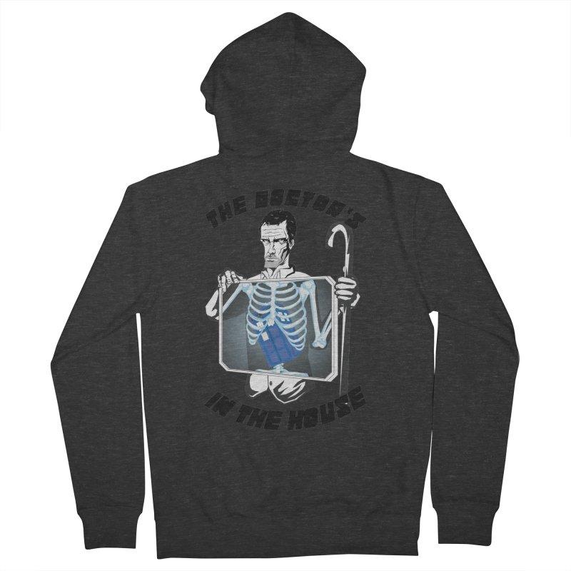 Doctor Doctor Men's Zip-Up Hoody by Inspired Human Artist Shop
