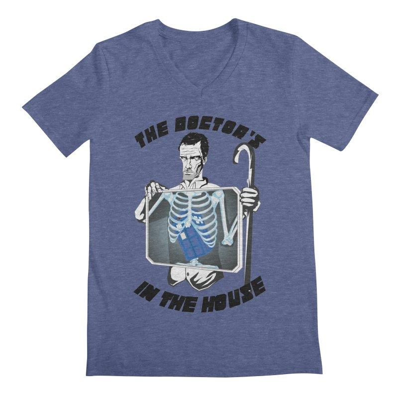Doctor Doctor Men's V-Neck by Inspired Human Artist Shop