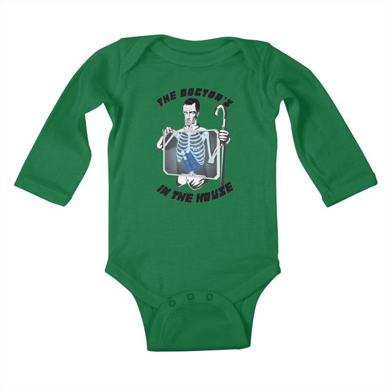 Doctor Doctor Kids Baby Longsleeve Bodysuit by Inspired Human Artist Shop