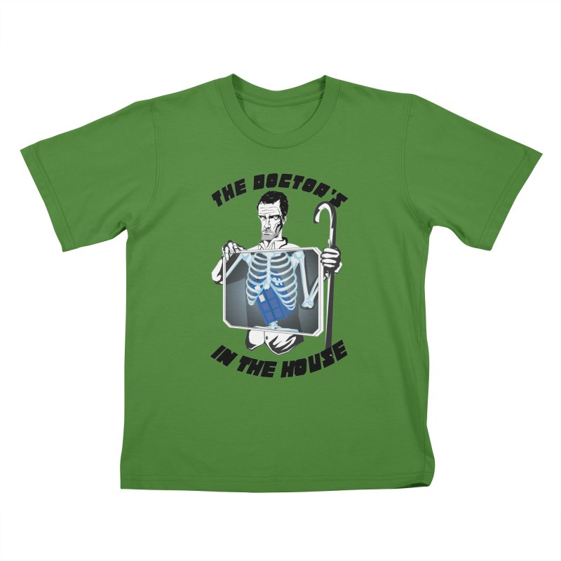 Doctor Doctor Kids T-Shirt by Inspired Human Artist Shop