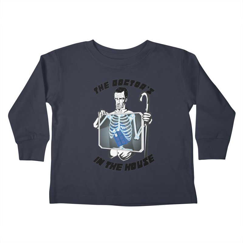Doctor Doctor Kids Toddler Longsleeve T-Shirt by Inspired Human Artist Shop