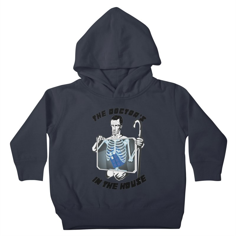Doctor Doctor Kids Toddler Pullover Hoody by Inspired Human Artist Shop