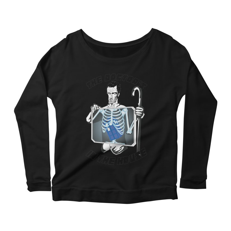 Doctor Doctor Women's Longsleeve Scoopneck  by Inspired Human Artist Shop
