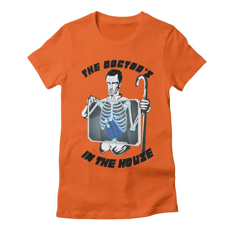 Doctor Doctor Women's Fitted T-Shirt by Inspired Human Artist Shop