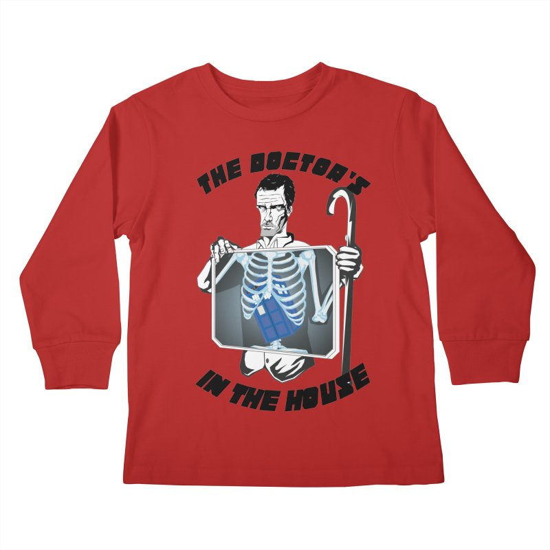 Doctor Doctor Kids Longsleeve T-Shirt by Inspired Human Artist Shop