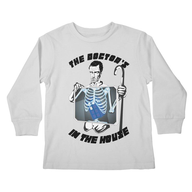 Doctor Doctor Kids Longsleeve T-Shirt by Inspired Human Artist Shop
