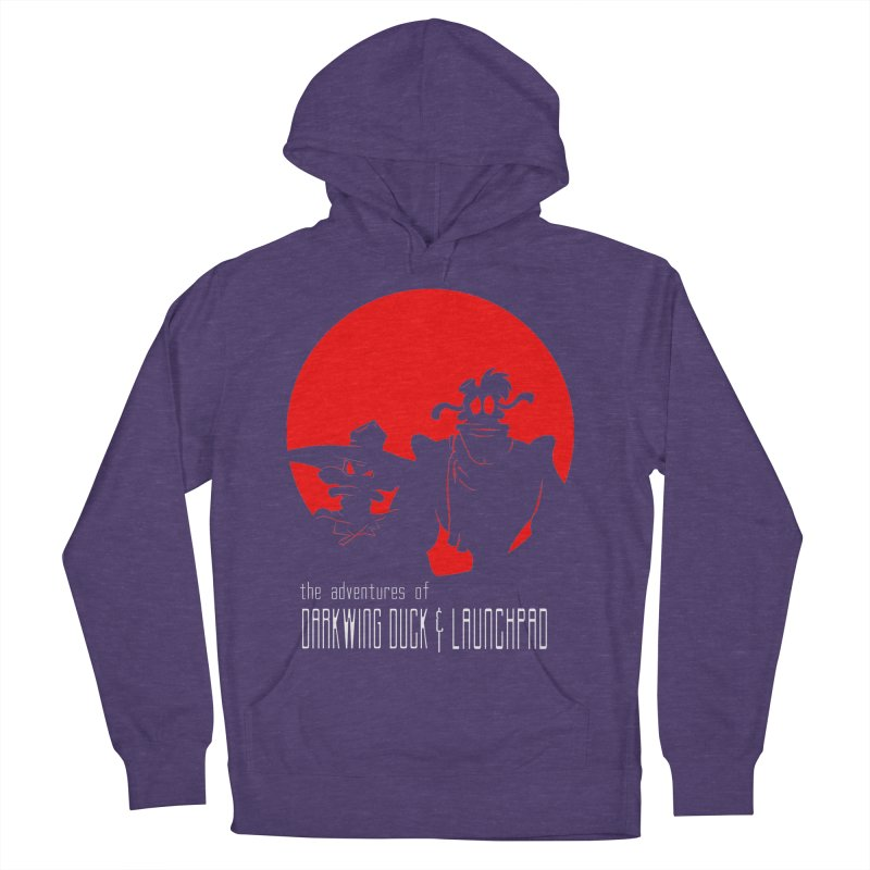 Darkwing & Launchpad Women's Pullover Hoody by Inspired Human Artist Shop