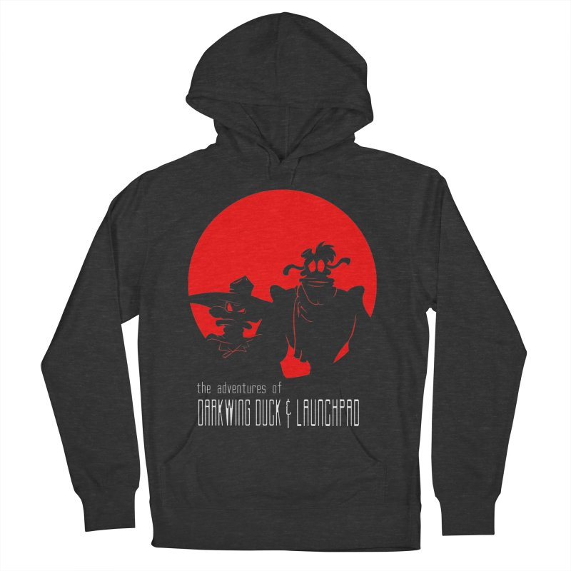 Darkwing & Launchpad Men's Pullover Hoody by Inspired Human Artist Shop