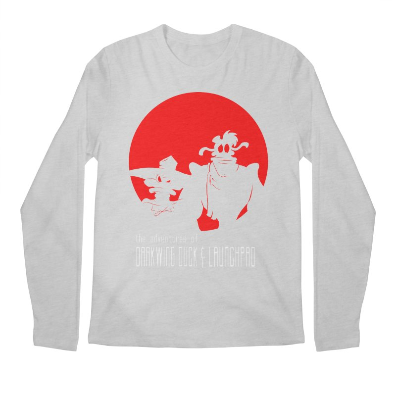 Darkwing & Launchpad Men's Longsleeve T-Shirt by Inspired Human Artist Shop