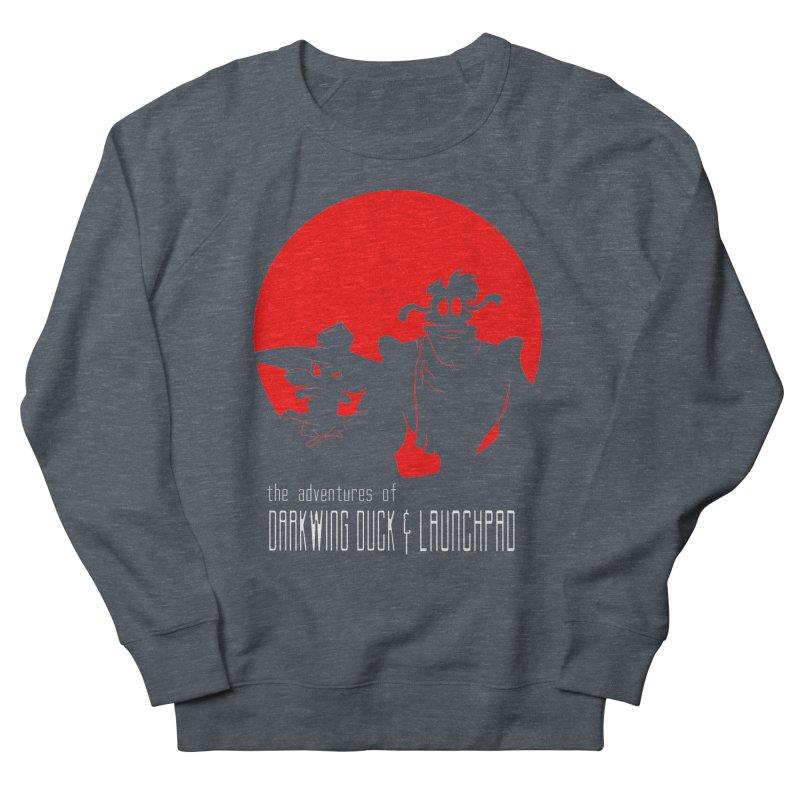 Darkwing & Launchpad Women's Sweatshirt by Inspired Human Artist Shop