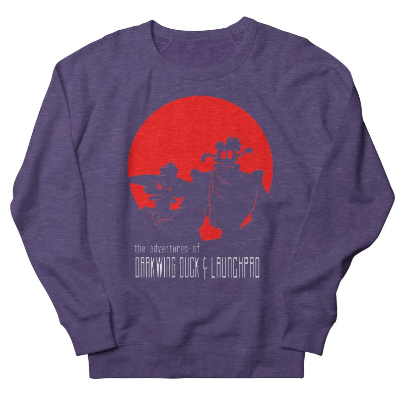 Darkwing & Launchpad Men's Sweatshirt by Inspired Human Artist Shop