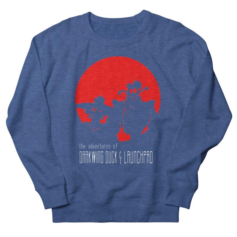 Darkwing & Launchpad Men's Sweatshirt by Inspired Human Artist Shop