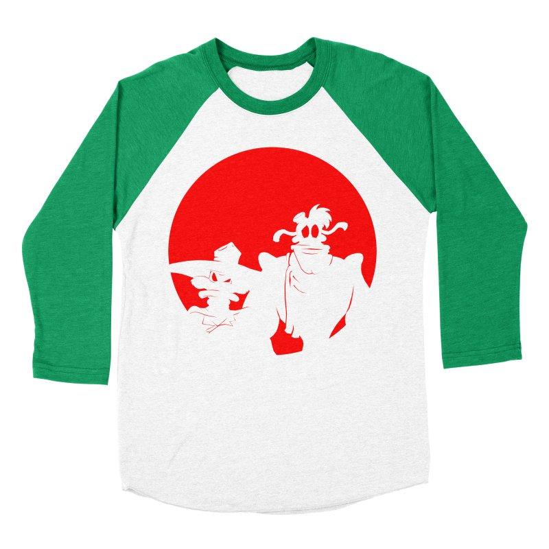 Darkwing & Launchpad Women's Baseball Triblend T-Shirt by Inspired Human Artist Shop