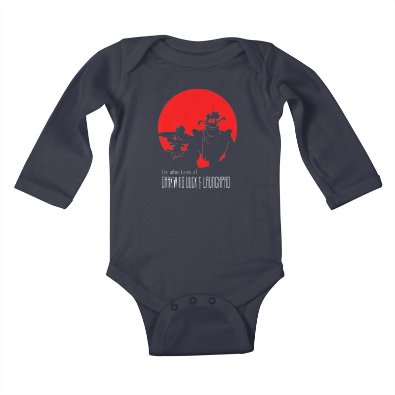 Darkwing & Launchpad Kids Baby Longsleeve Bodysuit by Inspired Human Artist Shop
