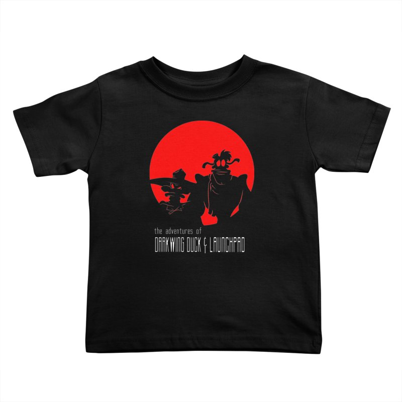 Darkwing & Launchpad Kids Toddler T-Shirt by Inspired Human Artist Shop