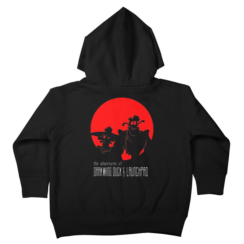 Darkwing & Launchpad Kids Toddler Zip-Up Hoody by Inspired Human Artist Shop