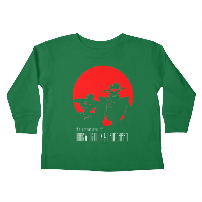 Darkwing & Launchpad Kids Toddler Longsleeve T-Shirt by Inspired Human Artist Shop