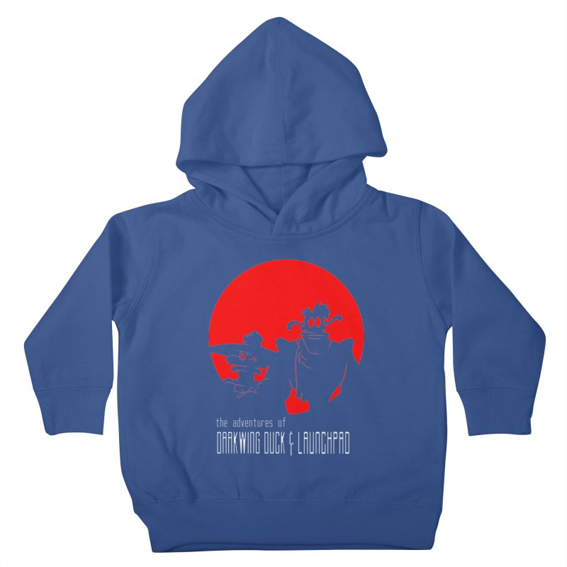 Darkwing & Launchpad Kids Toddler Pullover Hoody by Inspired Human Artist Shop