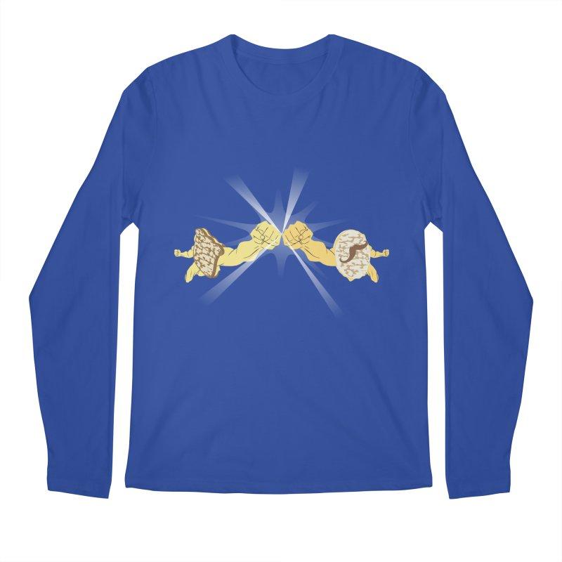 Cheesy Men's Longsleeve T-Shirt by Inspired Human Artist Shop