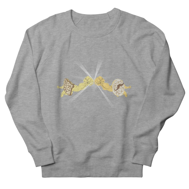 Cheesy Men's Sweatshirt by Inspired Human Artist Shop