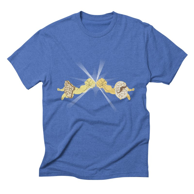 Cheesy Men's Triblend T-shirt by Inspired Human Artist Shop