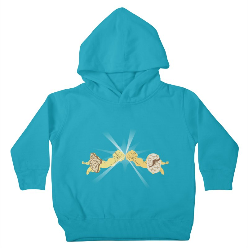 Cheesy Kids Toddler Pullover Hoody by Inspired Human Artist Shop