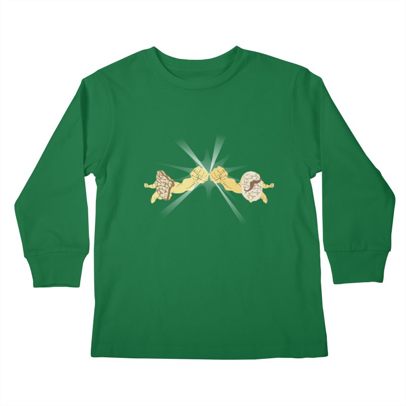 Cheesy Kids Longsleeve T-Shirt by Inspired Human Artist Shop