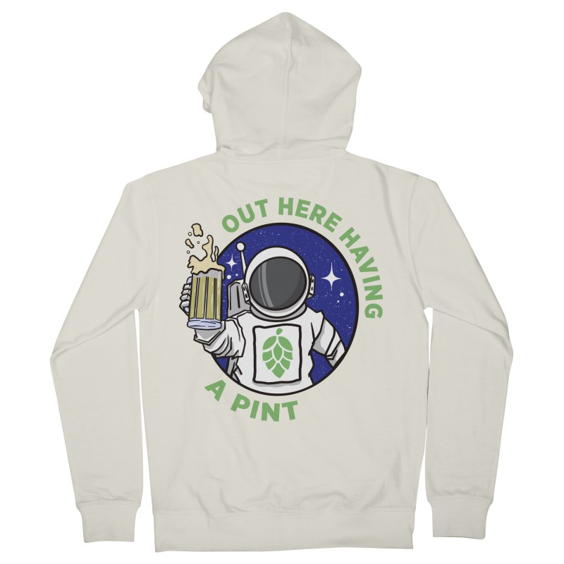 New OHHAP LOGO Men's French Terry Zip-Up Hoody by OHHAP Podcast's Artist Shop