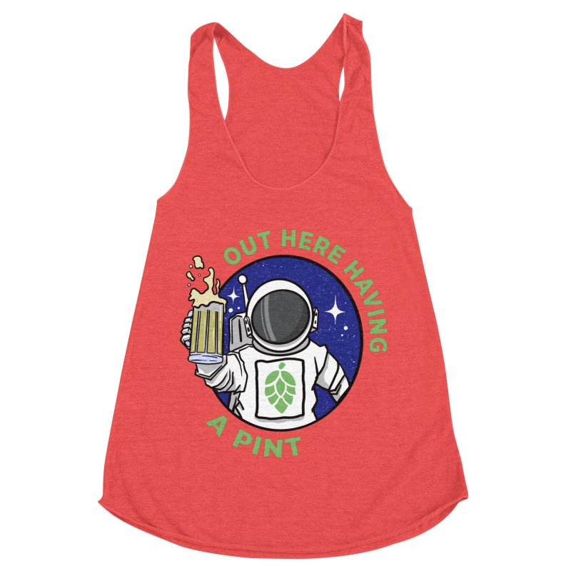 New OHHAP LOGO Women's Racerback Triblend Tank by OHHAP Podcast's Artist Shop