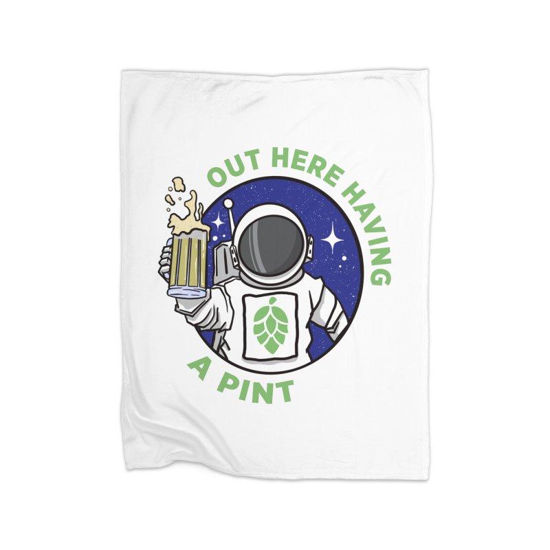 New OHHAP LOGO Home Fleece Blanket Blanket by OHHAP Podcast's Artist Shop