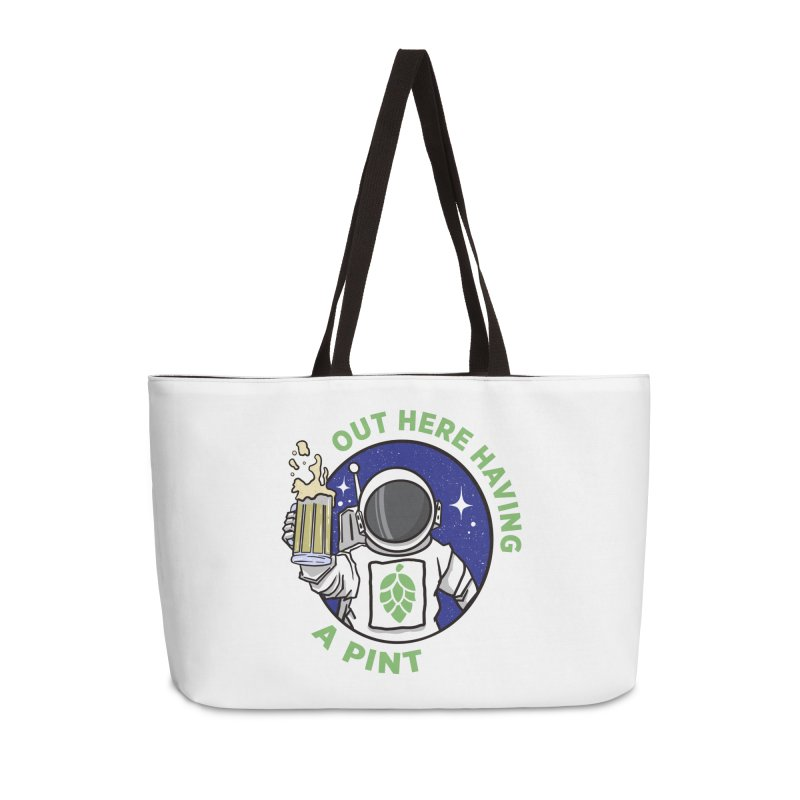 New OHHAP LOGO Accessories Weekender Bag Bag by OHHAP Podcast's Artist Shop