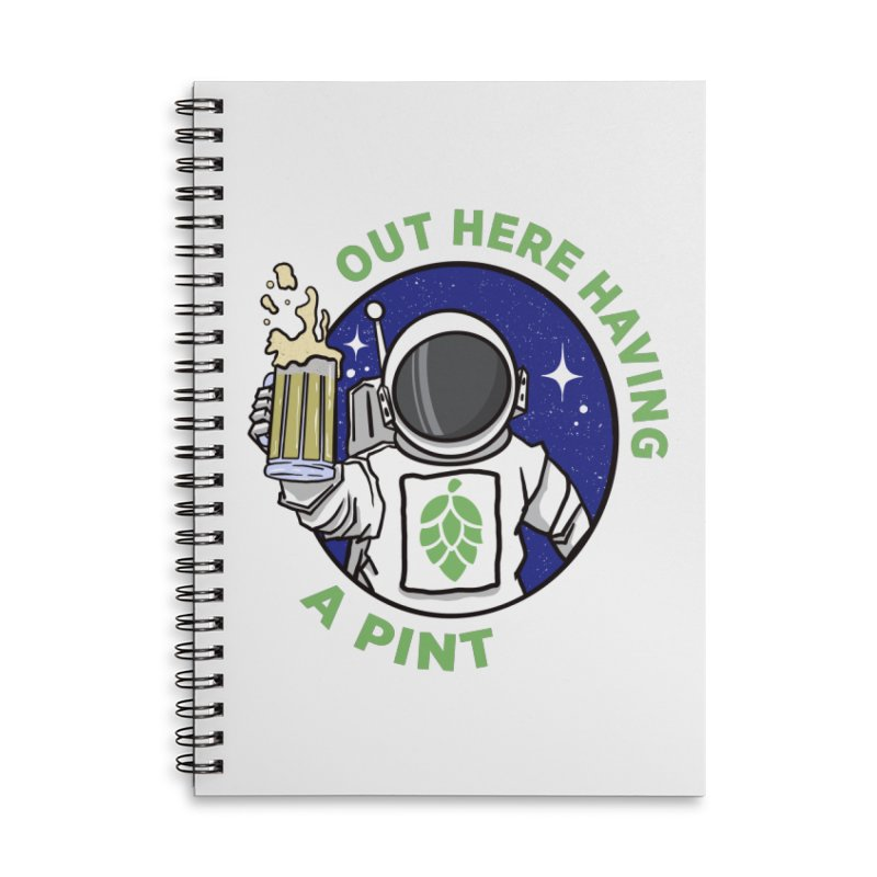New OHHAP LOGO Accessories Lined Spiral Notebook by OHHAP Podcast's Artist Shop