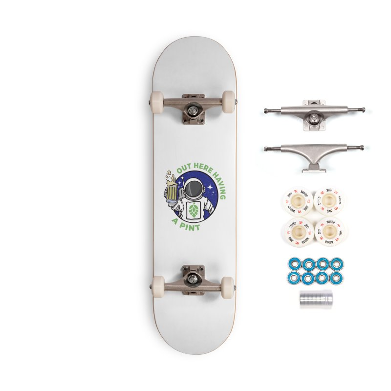 New OHHAP LOGO Accessories Complete - Premium Skateboard by OHHAP Podcast's Artist Shop