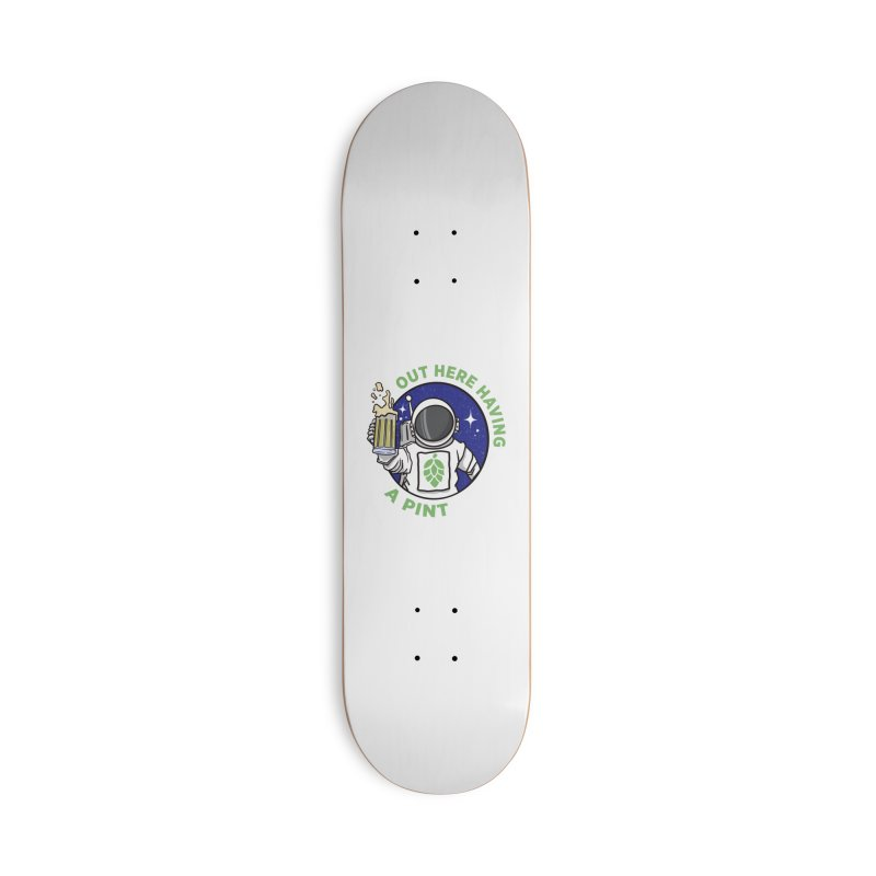New OHHAP LOGO Accessories Deck Only Skateboard by OHHAP Podcast's Artist Shop